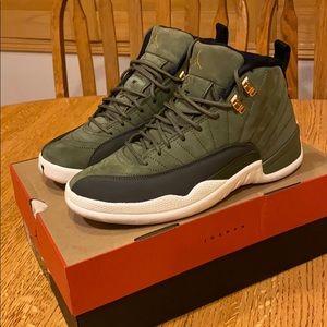 Jordan 12 Olive